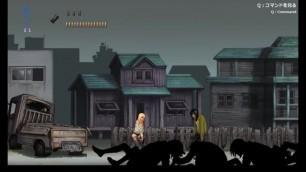 Sex in City Hentai Ryona Game Gameplay . Cute Blonde Teen Girl having Sex with Men
