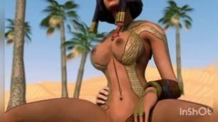 Dick between big tits SMITE HENTAI COMPILATION