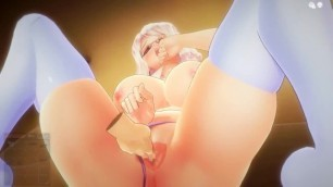 [3d Hentai] -INSULT ORDER- 3D Hentai JK Girl Ahegao Foreplay