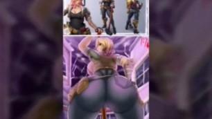 Blonde Big Ass FORTNITE HENTAI SEX PART 1 ;)