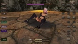 Elf Knight Gisele 3d Hentai Game Gameplay . Cute Elf Girl in Sex with Men in Forest