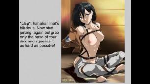 Hentai Anime JOI Mikasa Ackerman