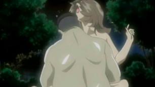Japanese girl anime hard fucked by big guy