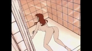 LESBIAN SHOWER - Animated Females Lick Pussy and Fingering in the Bath - Pussy Eating Lez Cartoon