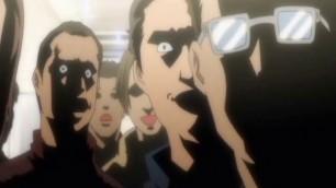 Schoolgirl anime big tits gangbanged and cummed allbody