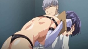 Captive anime coed with bigboobs and gags brutally fucked