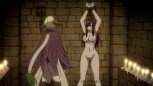 Erza Scarlet Bondage (uncensored Torture Scene Edited) Fairy Tail Hentai