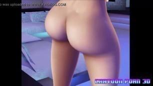 Cartoon Porn 3D - Model Nude Cartoon #1
