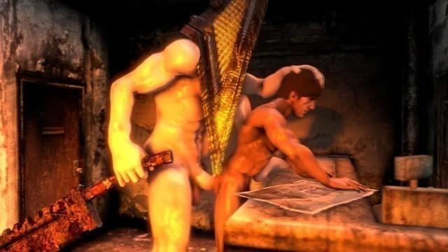 Sillent Hill porn gay cartoon