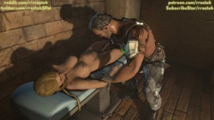 Sonya from Mortal Kombat fisted by Kano Hardcore 3D porn