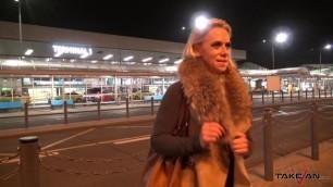 Takevan Monster boobs MILF scream wild when fucked hard in driving car