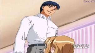 Big Tits Anime Blonde Fucked Hard After Sleeping