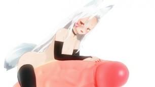 Shiro Sewayaki Kitsune no Senko-san hentai Fox girl enjoy giant cock