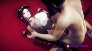 KDA Lol Hentai 3D - Akali Having sex and enjoying