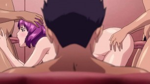 Guy watches the girl of his dreams fucked to orgasm - Hentai