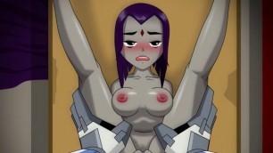 Hentai Raven Get Fuck by Cyborg Teen Titan