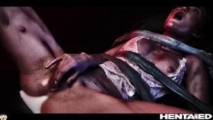 Real Life Hentai - Sonya Blaze fucks Aliens with Creampie