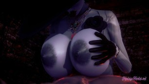 Resident Evil Hentai - POV Lady Dimitresku boobjob and fucke