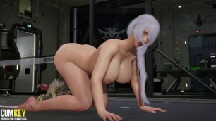 Big Boobs Doctor Was Impregnated By Monsters Tentacles | 3D Porn Hentai | Fallen Doll