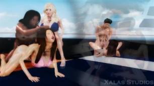 Xalas Studios Yacht Party Orgy