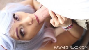 Blowjob From A Real Life Hentai Girl